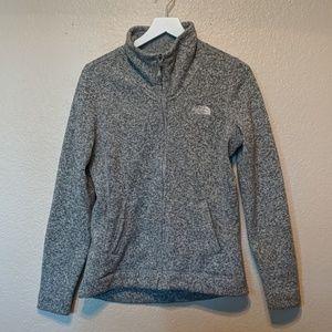 The north face medium gray jacket